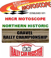 HRCR Motoscope Northern Historic Gravel Rally Championship