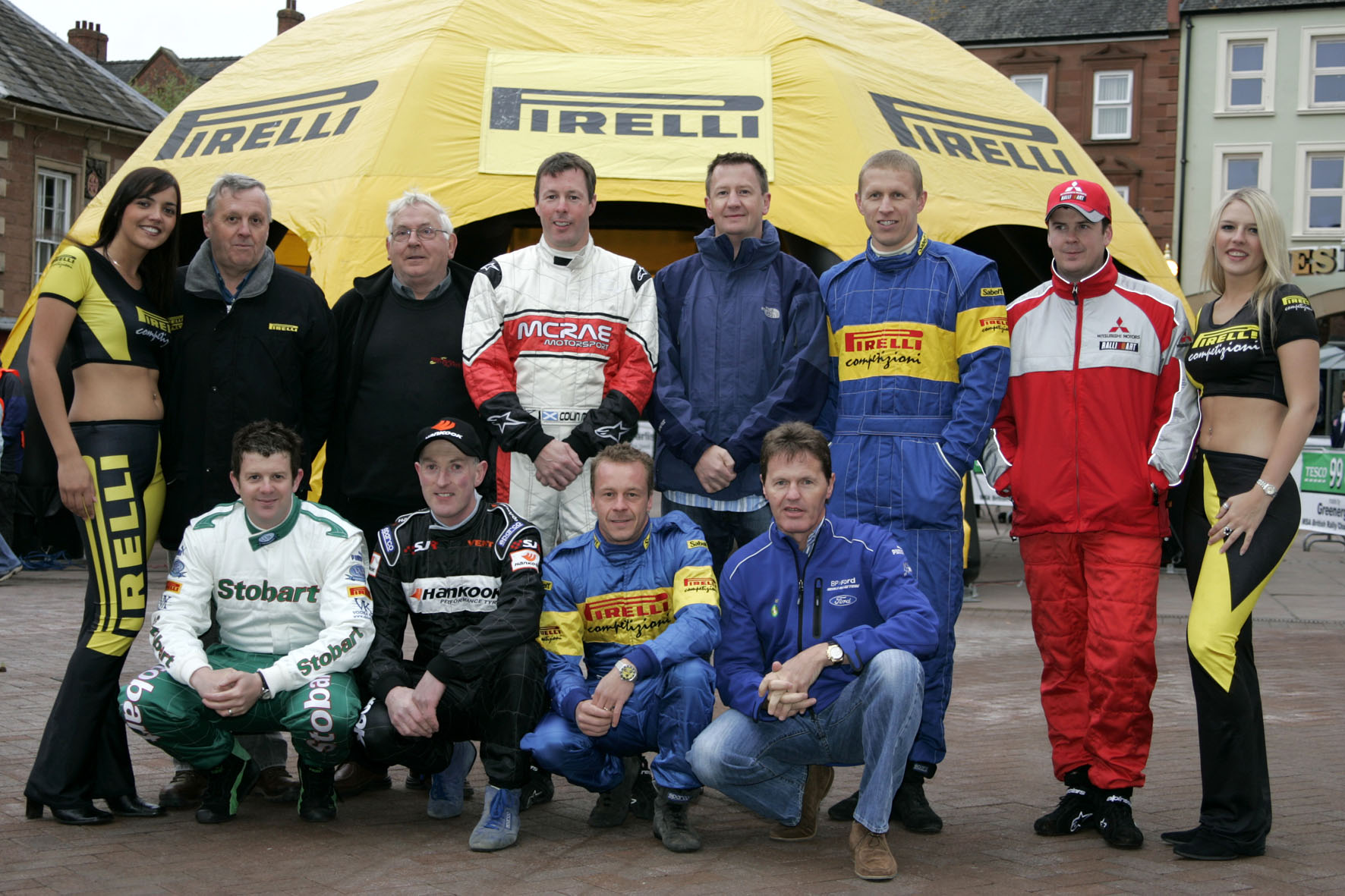 Pirelli International Rally - Past Winners