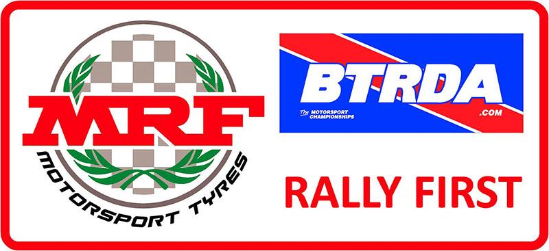 MRF Tyres BTRDA Rally First